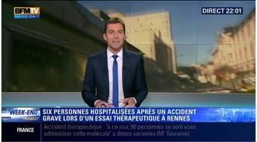 Un essai clinique vire au drame à Rennes