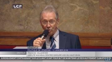 Travaux de l'Assemblée : Débat du groupe UDI sur la politique en matière d'énergie
