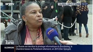 Christiane Taubira, l'icône de la gauche et la cible favorite de la droite