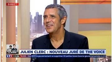 """Julien Clerc : """"C'est une émission musicale, donc pour moi, c'est très important"""""""