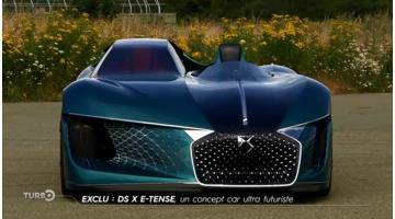 Turbo : Exclu : DS X E-Tense, un concept-car ultra-futuriste