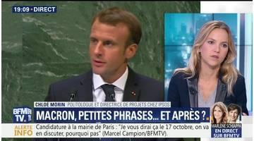 Emmanuel Macron à New-York: petites phrases...et après ?