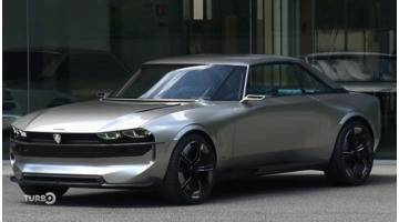 Turbo : Concept Peugeot e-Legend : un air de 504 !