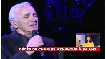 """""""Il était en pleine forme"""", assure le médecin de Charles Aznavour"""
