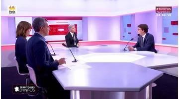 Invité : Sacha Houlié - Territoires d'infos (10/10/2018)