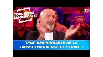 """TPMP est-il responsable de la baisse d'audience de """"Strike"""" ? Cyril Hanouna répond !"""