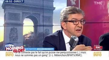 Morning Glory: la défense de Jean-Luc Mélenchon