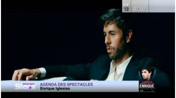 Absolument Stars : Agenda spectacles : Enrique Iglesias, Patrick Bruel, Harry Connick Junior