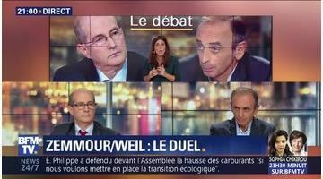 Éric Zemmour face à Patrick Weil (1/2)