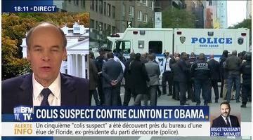 """Des """"colis suspects"""" adressés à Hillary Clinton et Barack Obama"""