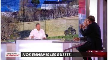 Nos ennemis les russes - L'Info du vrai du 31/10 - CANAL+