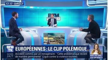 Européennes: Le clip polémique (1/2)
