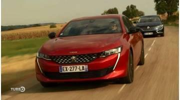 Turbo : Peugeot 508 vs Renault Talisman: le choc des françaises!