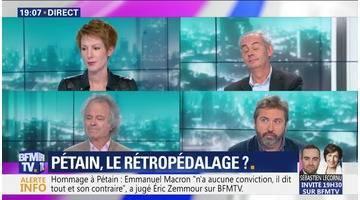 Pétain: Le rétropédalage ?