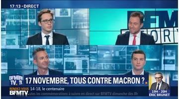 17 novembre: Tous contre Emmanuel Macron
