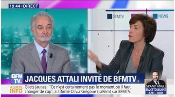 Jacques Attali face à Ruth Elkrief