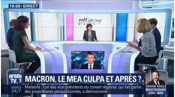 Emmanuel Macron: Le mea culpa et après ?