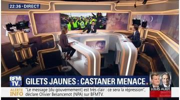 Gilets jaunes: Castaner menace (2/2)