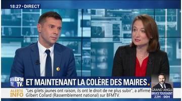 Emmanuel Macron et les maires: Le divorce
