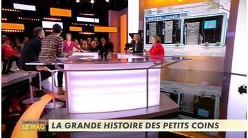 La grande histoire des petits coins - L'Info du vrai du 23/11 - CANAL+
