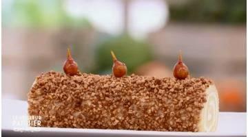 Le meilleur pâtissier : Le gâteau roulé revisité de Cyril Lignac