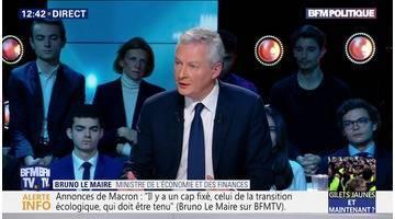 """Questions d'éco: """"Nous avons rappelé, avec mon homologue, notre attachement à l'alliance entre Renault et Nissan"""", Bruno Le Maire"""