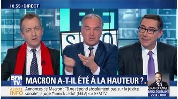 Emmanuel Macron a-t-il été à la hauteur ? (4/4)