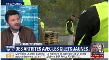 """Gilets jaunes: """"J'entends dans mon pays la détresse des gens et je ne peux pas rester insensible"""", Philippe Lellouche"""