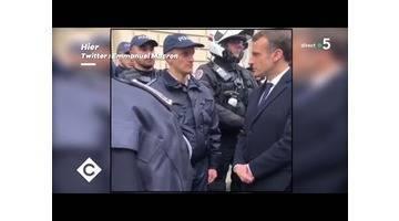 Gilets Jaunes : la colère et la peur des policiers - C à Vous - 03/12/2018