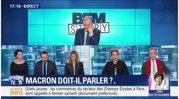 Gilets jaunes: Emmanuel Macron doit-il dans ce contexte parler ?