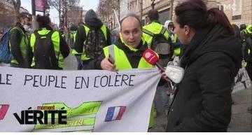 Moment de vérité : avec les gilets jaunes sur les Champs-Elysées, acte IV