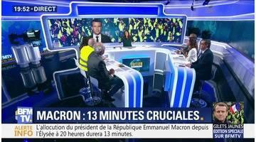 Crise des gilets jaunes: Emmanuel Macron va-t-il convaincre ?