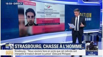 Attentat à Strasbourg: Un appel à témoins diffusé (1/2)