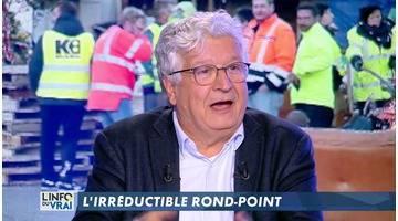 L'irréductible rond-point- L'Info du vrai du 13/12 - CANAL+