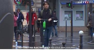 Trottinettes électriques : êtes-vous bien assurés ?