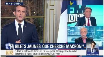Gilets jaunes: Que cherche Emmanuel Macron ?