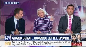 Grand débat: Chantal Jouanno jette l'éponge (3/4)