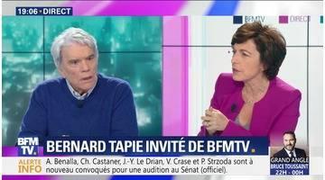 Bernard Tapie face à Ruth Elkrief