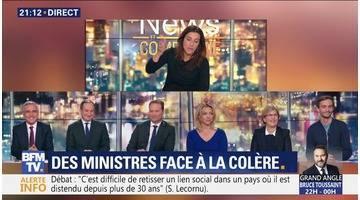 Grand débat national: Des ministres chahutés par des citoyens en colère (1/2)