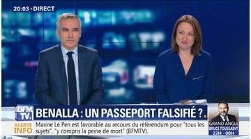 Benalla: Un passeport falsifié ?
