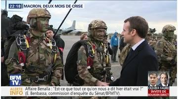 Macron, deux mois de crise
