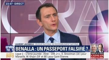 Benalla : Un passeport falsifié ?