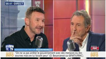 Olivier Besancenot face à Jean-Jacques Bourdin en direct