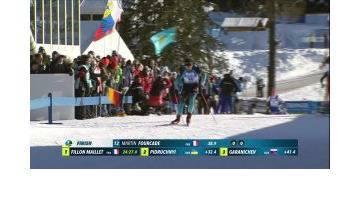 Le résumé vidéo du sprint d'Antholz-Anterselva